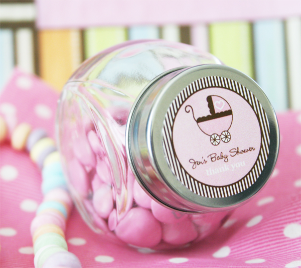 Baby Shower Favors Personalized Candy Jars