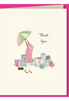 baby shower thank you - SOLD OUT