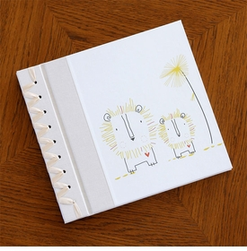 babys first book - yellow lion by rag & bone bindery