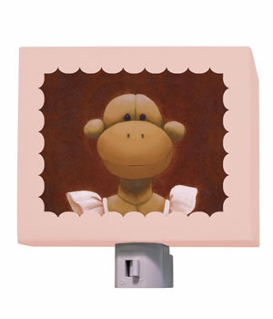 ballerina monkey nightlight