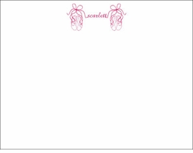 ballet shoes children's flat stationary