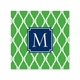 bamboo kelly coaster square paper coaster<br>set of 50
