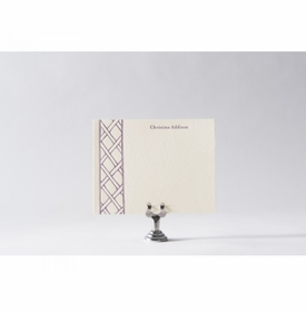 bamboo lattice note cards