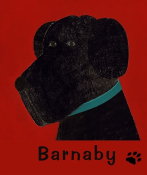 barnaby - black wall art