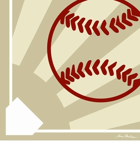 baseball athlete wall art