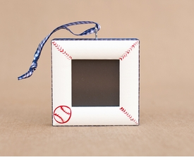 baseball christmas ornament