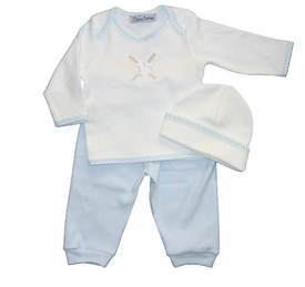 baseball layette set