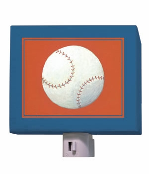 baseball nightlight