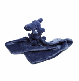 bashful elly blue soother by jelly cat