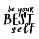 Be Your Best Self Square Note Pad