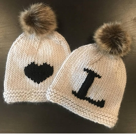 beanie hats with fur pom pom