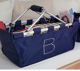Beautycounter B Signature Branded Navy Market Tote