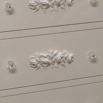 bella rosa six drawer dresser with cabinet
