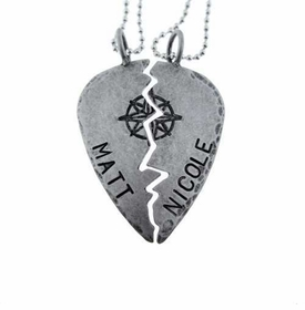 best friend pick necklace