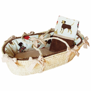 best friends moses basket by doodlefish - unavailable