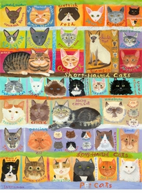 best in show - cats! wall art