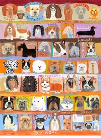 best in show - dogs! wall art