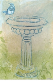 birdbath wall art - unavailable