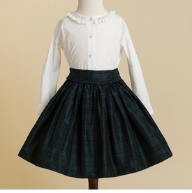blackwatch plaid party skirt
