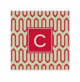 blaine cherry square paper coaster<br>set of 50