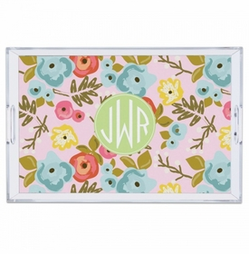 Bloom Blush Large Tray