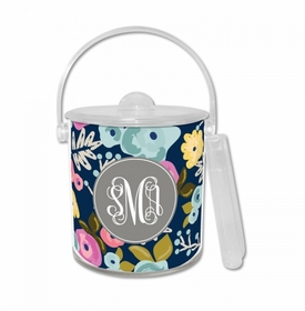 Bloom Navy Ice Bucket