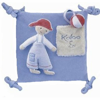 blue activity squares by kaloo