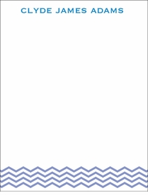 blue baby waves children's stationary