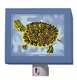 blue camo cooter turtle nightlight