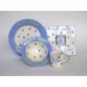 blue cornflower dish set