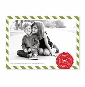 boatman geller air mail olive photocard