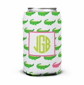 boatman geller alligator repeat can koozie