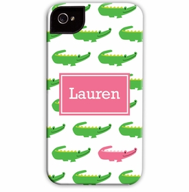 boatman geller alligator repeat cell phone case