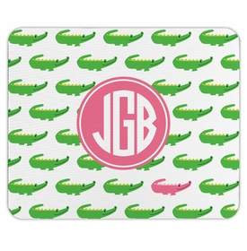 boatman geller alligator repeat mouse pad