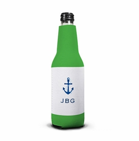 boatman geller anchor bottle koozie