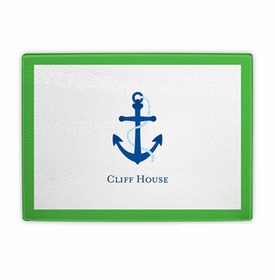 boatman geller anchor cutting board