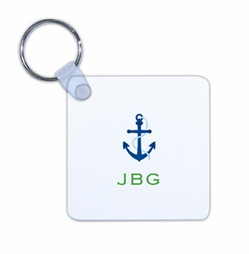 boatman geller anchor key chain