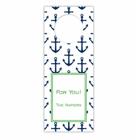 boatman geller anchors navy wine tags
