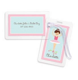 boatman geller ballerina bag tags