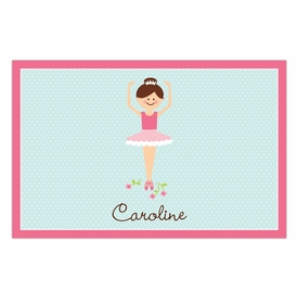 boatman geller ballerina disposable placemats
