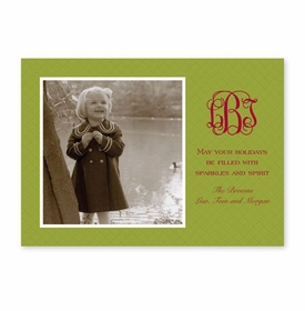 boatman geller basketweave willow photocard
