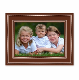 boatman geller beaded brown photocard