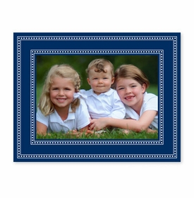 boatman geller beaded navy photocard