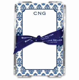 boatman geller beti navy acrylic note sheets