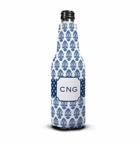 boatman geller beti navy bottle koozie