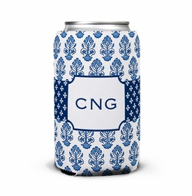 boatman geller beti navy can koozie