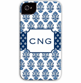 boatman geller beti navy cell phone case