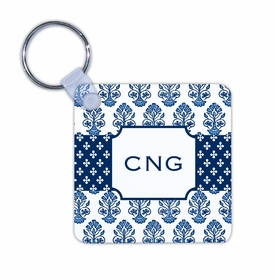 boatman geller beti navy key chain