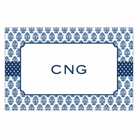 boatman geller beti navy placemat