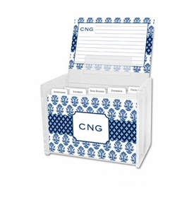 boatman geller beti navy recipe box